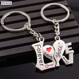 1 Pair Love Keyrings