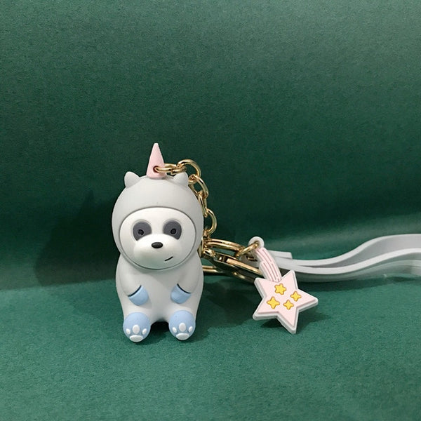 Bears Lovely Doll Keychain Figures