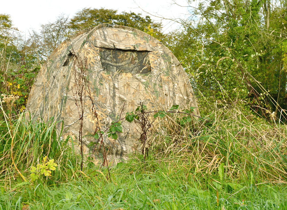 Dome hide wildlife photo hide made in the UK by Wildlife Watching Supplies.