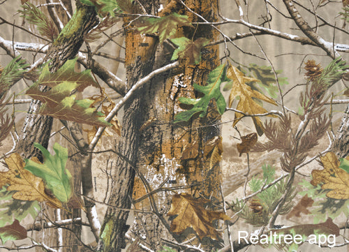 Make your own camera camouflage with our Realtree camouflage Neoprene sheets ideal for camera coats camera camouflage, camera protection and camera lens covers