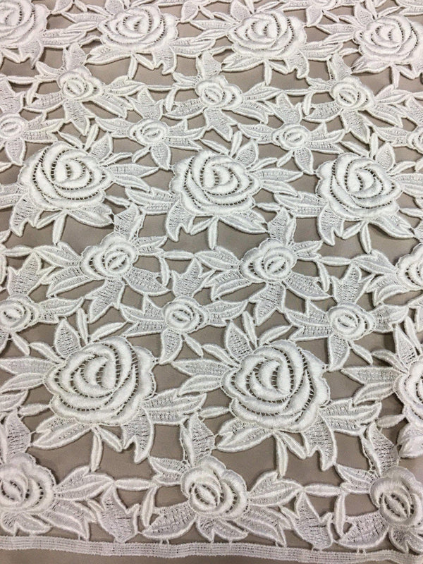 Guipure lace (1346) Ivory
