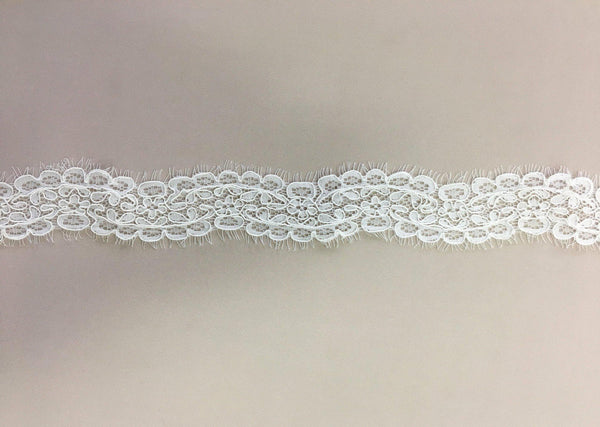 Corded Lace Trim (1482t) Ivory