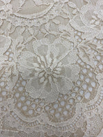 Two-Toned Fine Lace (1581) Ivory Nude