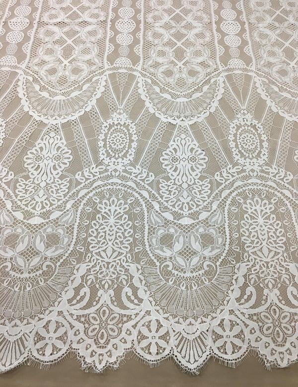Ornamental Fine Lace (1626) Ivory