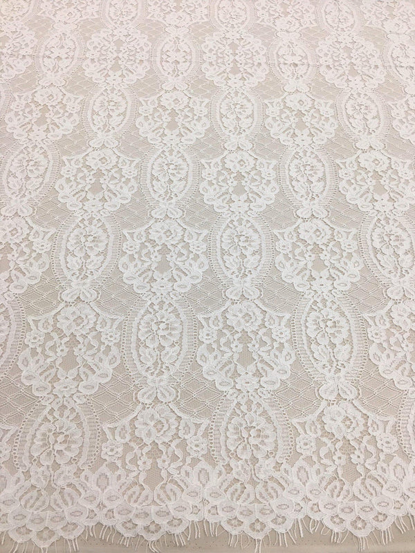 Ornamental Corded Lace (1633) Ivory
