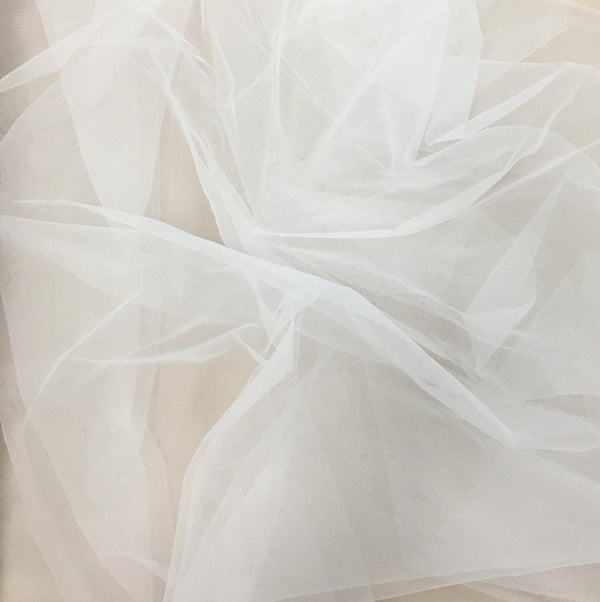 2D Tulle Ivory