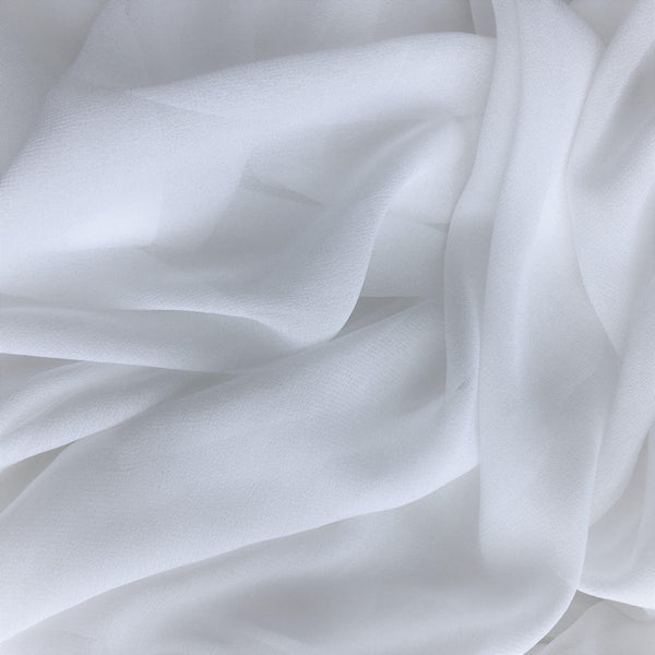 Viscose Georgette Ivory