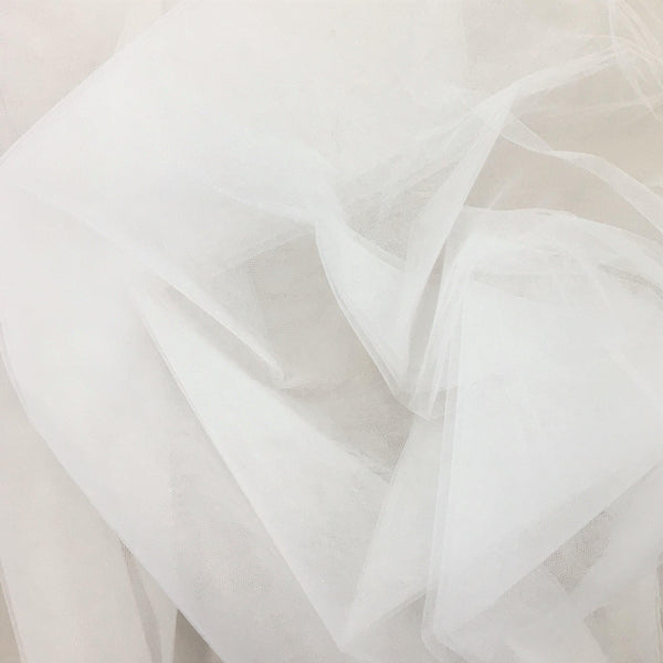 Crystal Tulle White