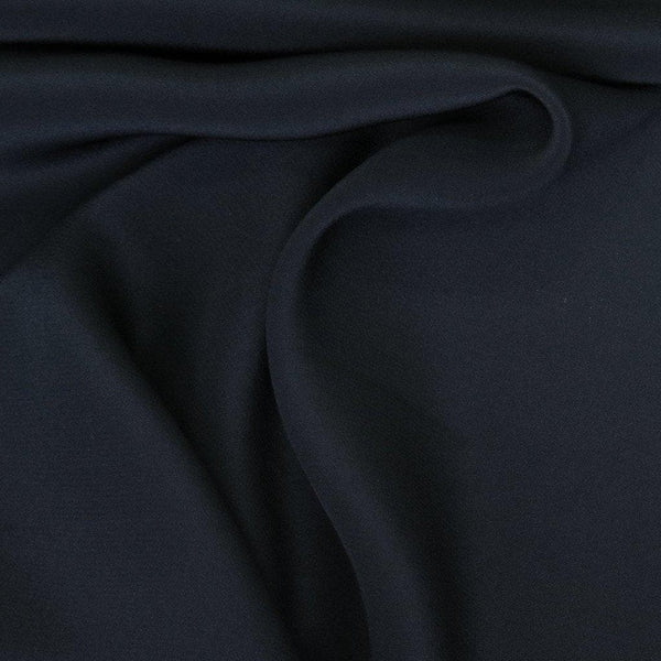 Crepe De Chine French Navy