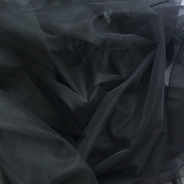 Illusion Tulle Black