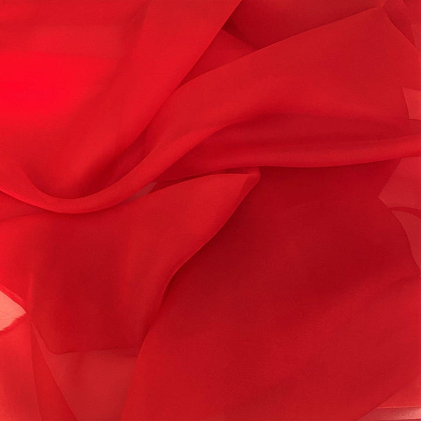 Organza Deep Red