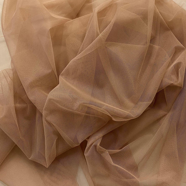 Polyester Tulle Nude