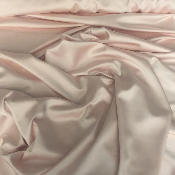 Stretch Polyester Satin Antique pink