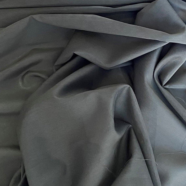 Silk Cotton Voile Khaki