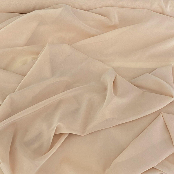 Georgette Stretch Nude