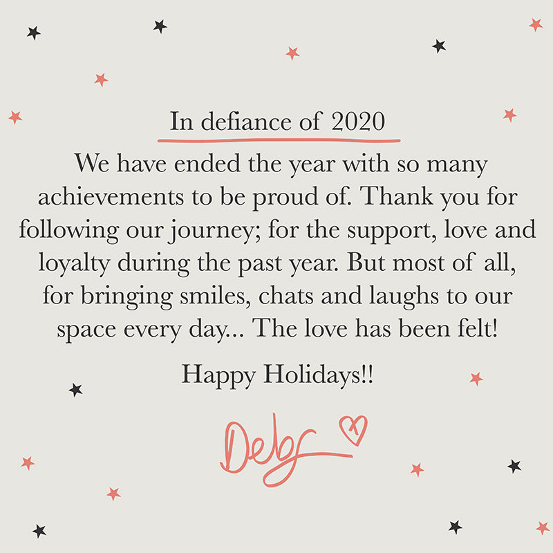 What a year!! Goodbye 2020!