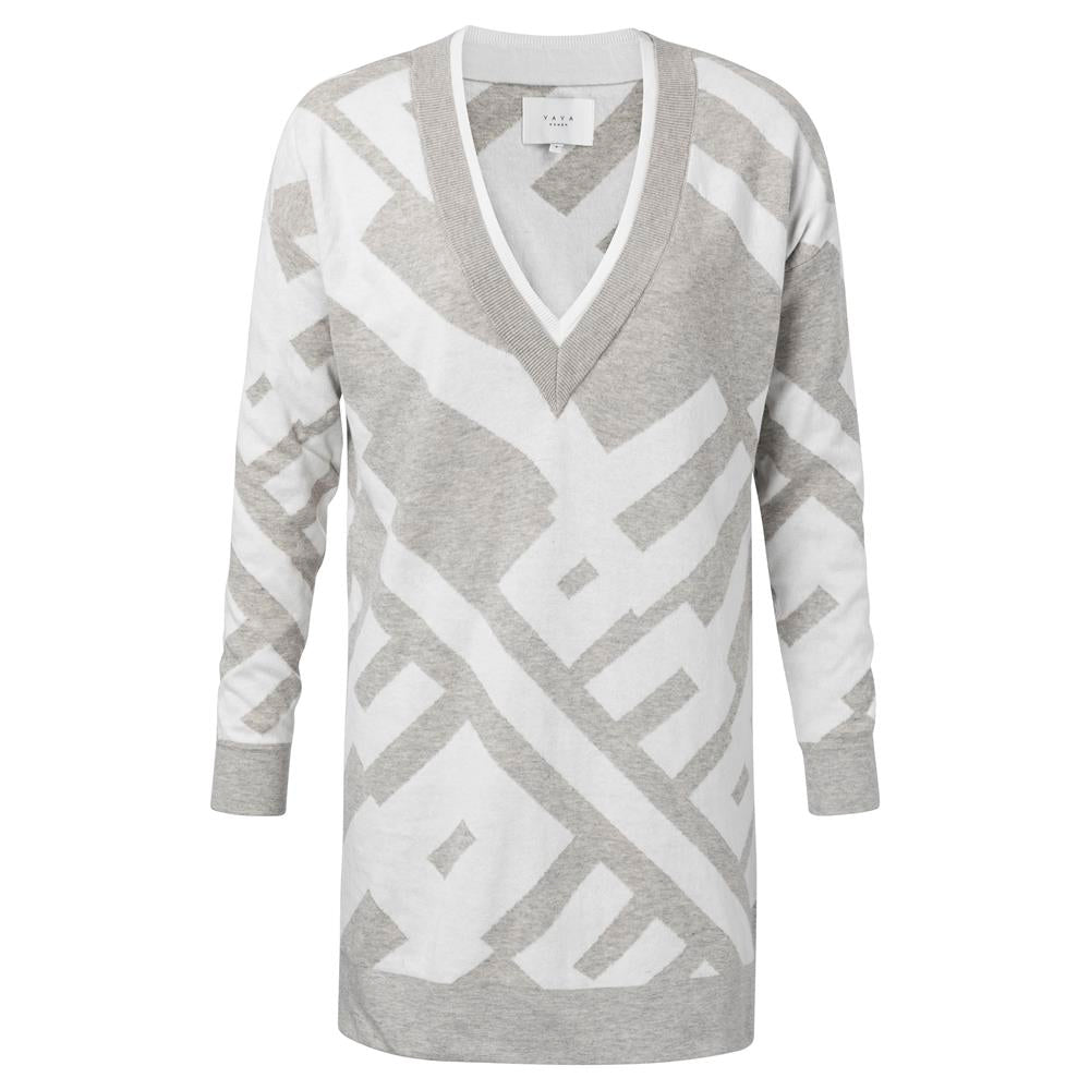 Graphic letter Jacquard Sweater | Madison Boutique | Buy Online in South Africa