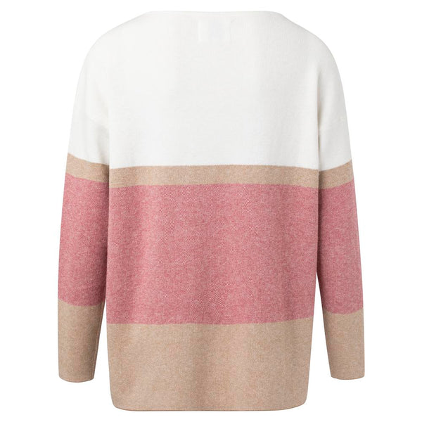 Boatneck Sweater with Stripe | Madison Boutique | Buy Online in South Africa