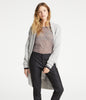 Long Cozy Cardigan - Light Grey Marle
