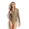 Spirit Animal Long Sleeved Surf Suit