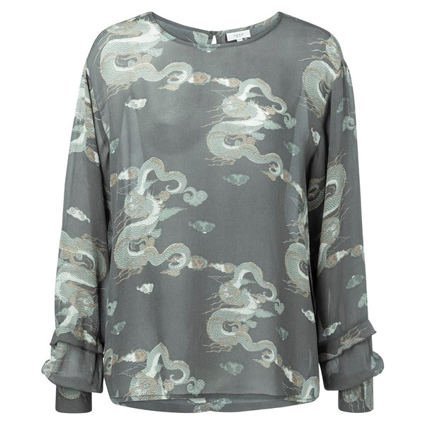Dragon Print Blouse | Madison Boutique | Buy Online in South Africa