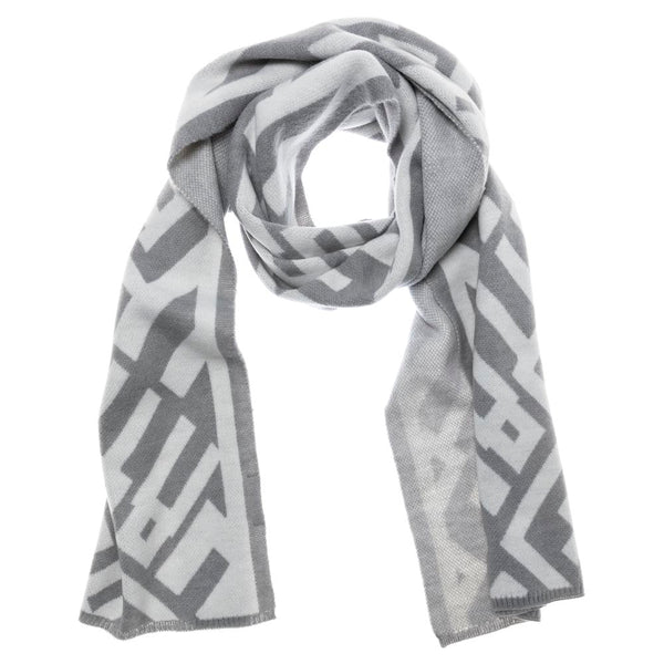 Knitted Text Scarf | Madison Boutique | Buy Online in South Africa