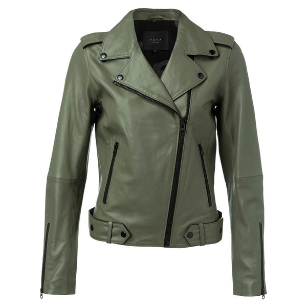 Leather Biker Jacket | Madison Boutique | Buy Online in South Africa