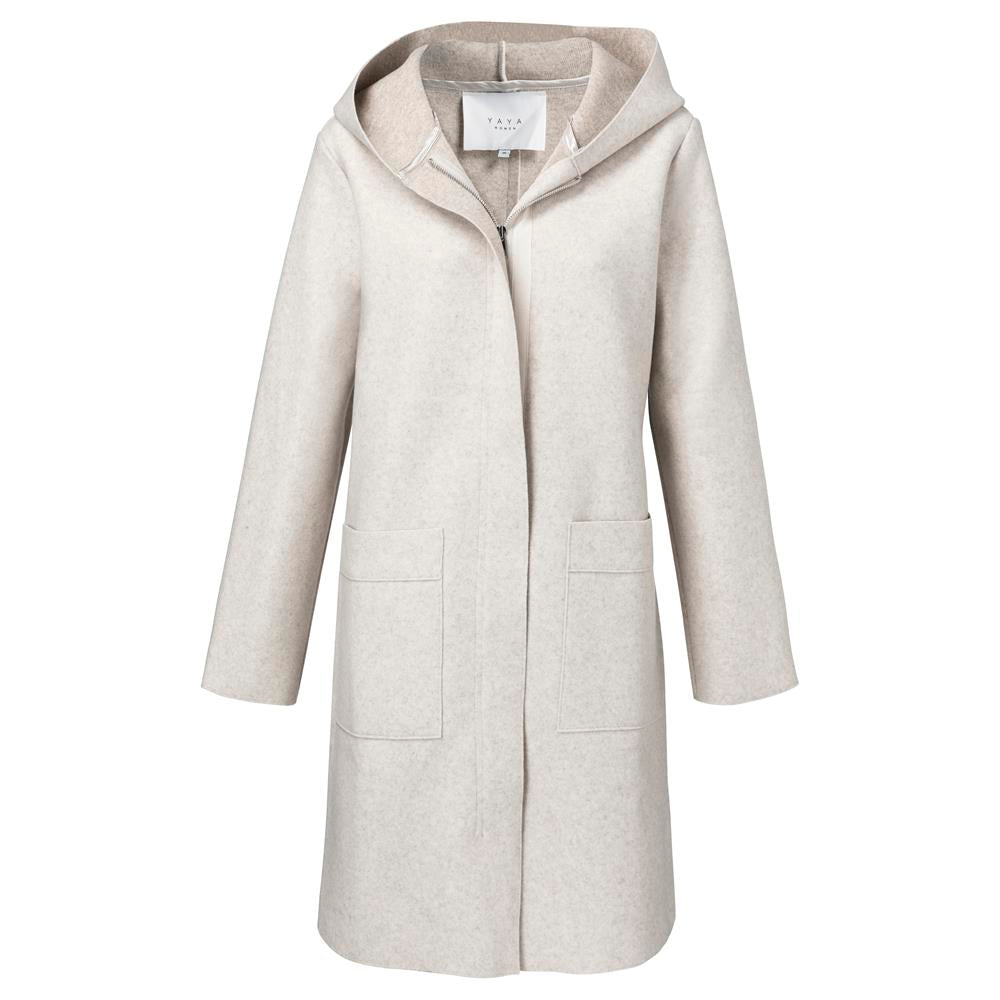 Soft Hooded Jacket - Beige | Madison Boutique | Buy Online in South Africa
