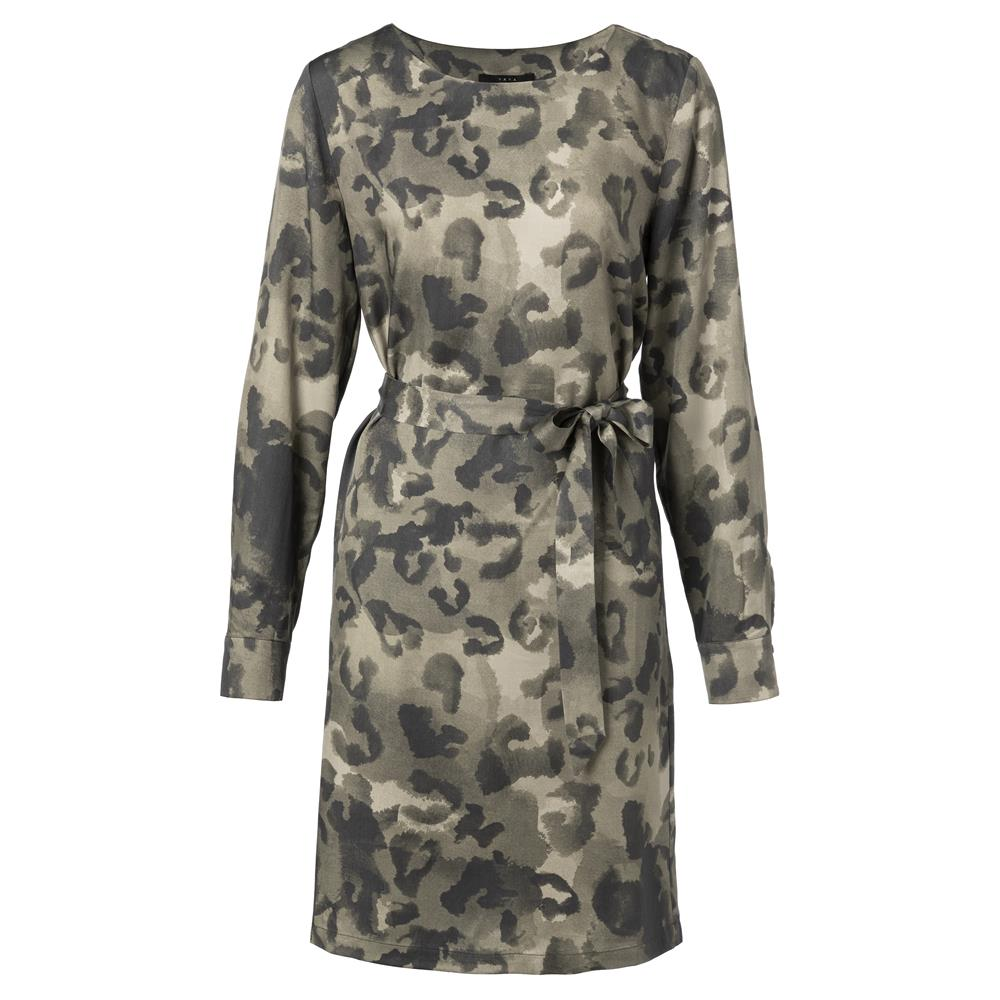 Dress Ruffle Leopard Print | Madison Boutique | Buy Online in South Africa