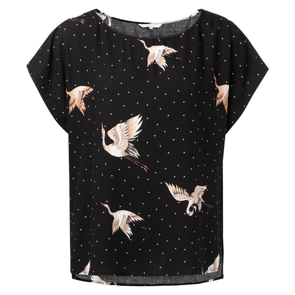 Cranebird Print Top | Madison Boutique | Buy Online in South Africa