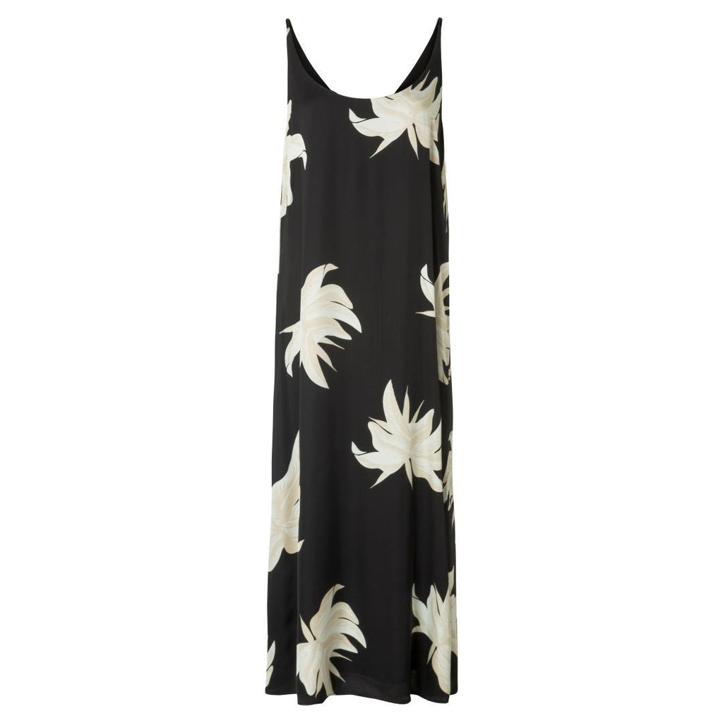 Strappy Dress Jungle Flower Print