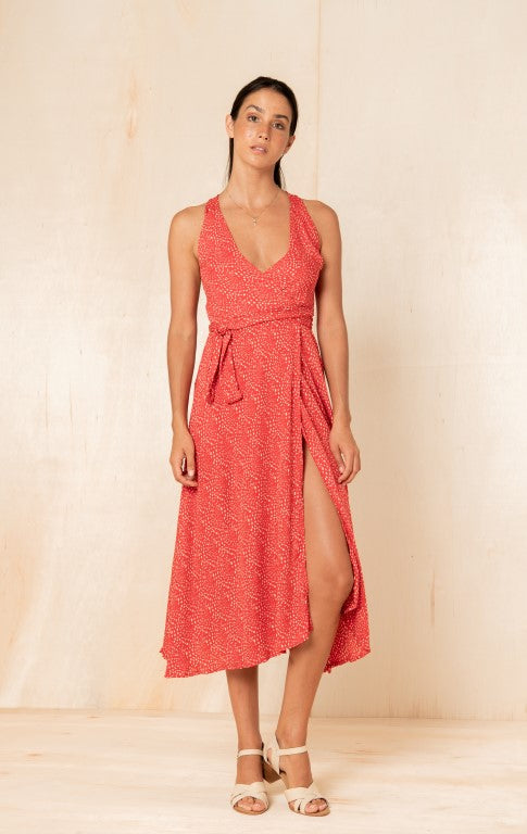 Annie Dress in Paprika