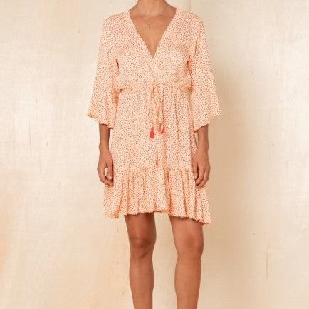 Brooklyn Dress in Melon
