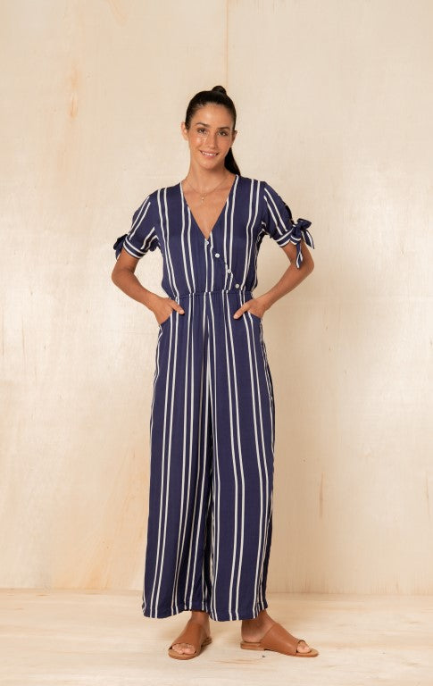 Bridget Jumpsuit in Lapis