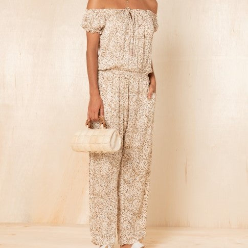 Harper Jumpsuit in Dessert