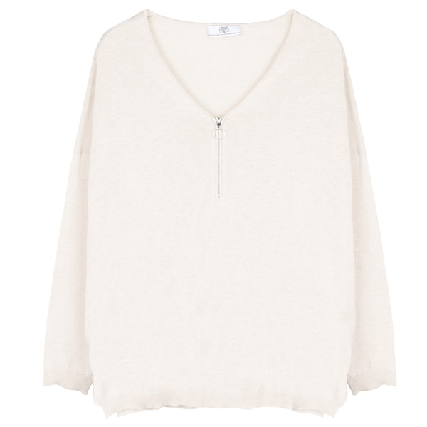 Slouchy Knit - Ice Cream