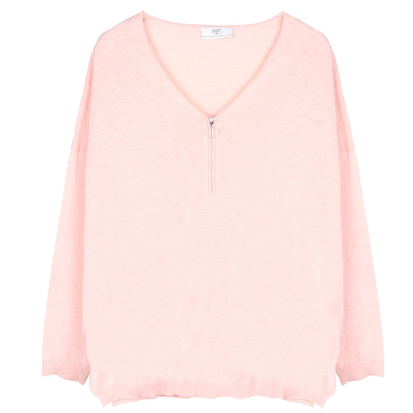 Sloucht Knit - Summer Blush