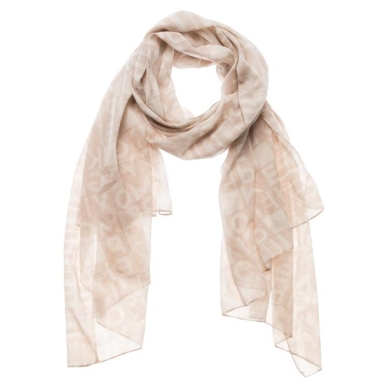 Yaya Printed Scarf - Cream | Madison Boutique | Buy Online in South Africa