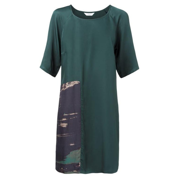 Yaya Emerald Green Shift Dress