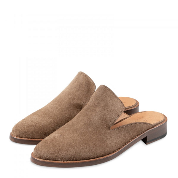 Dark Sand Slip on Loafers