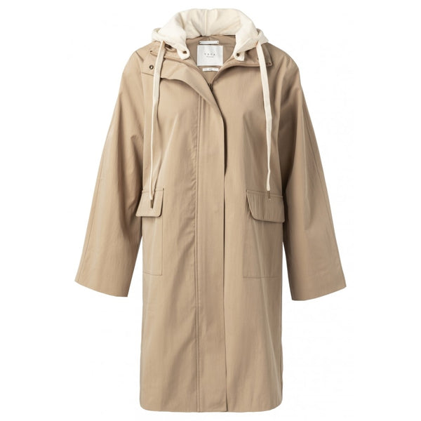 Dark Sand Trench Coat