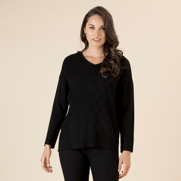Coveted Cashmere Knit - Black