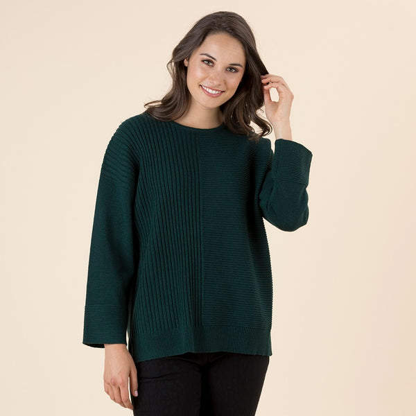 Cashmere Multi Rib Sweater
