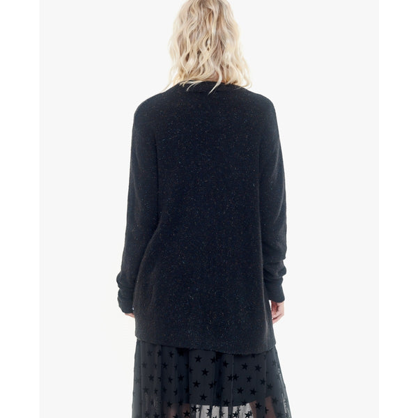 Black Midi Length Cardigan
