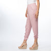 Rose Luxe Rouche Pants
