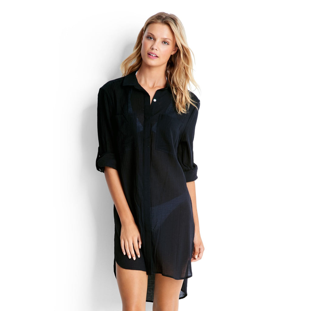 Beach Shirt - Black