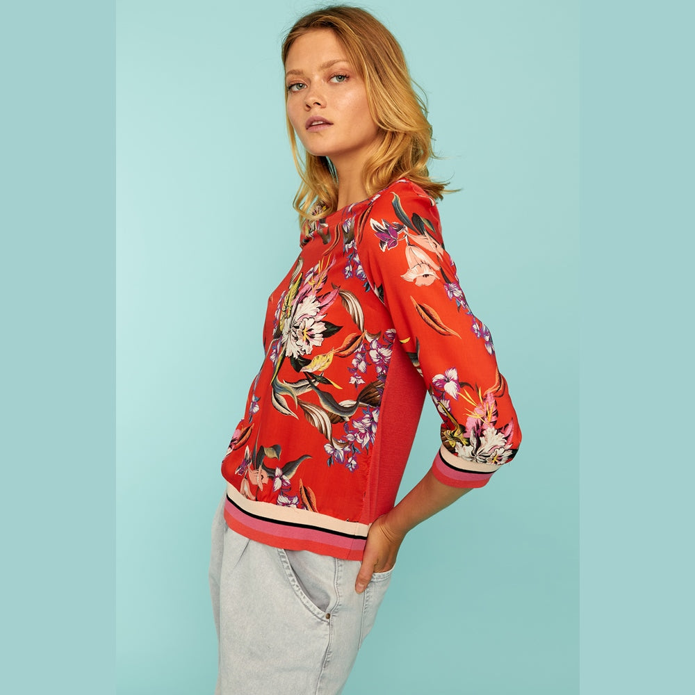 Cruis Red Blouse
