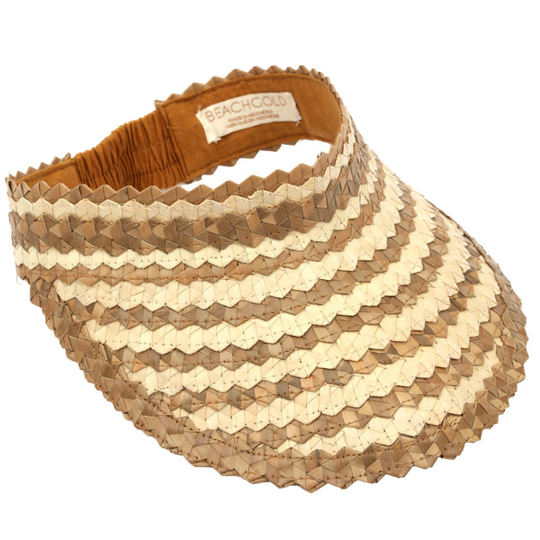Baha Visor in Checkers Brown | Madison Boutique | Buy Online in South Africa