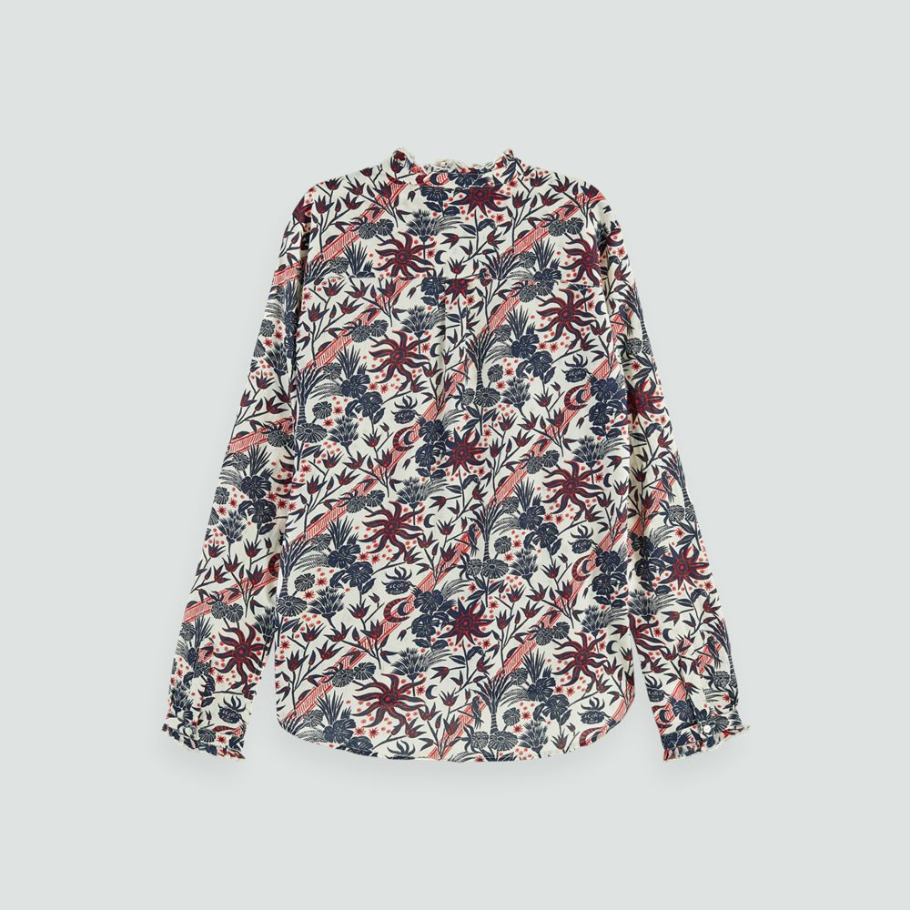 Cotton Printed Shirt