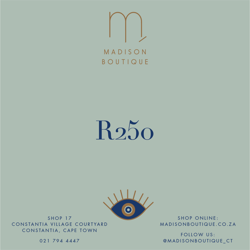 Madison Gift Card | Madison Boutique | Buy Online in South Africa